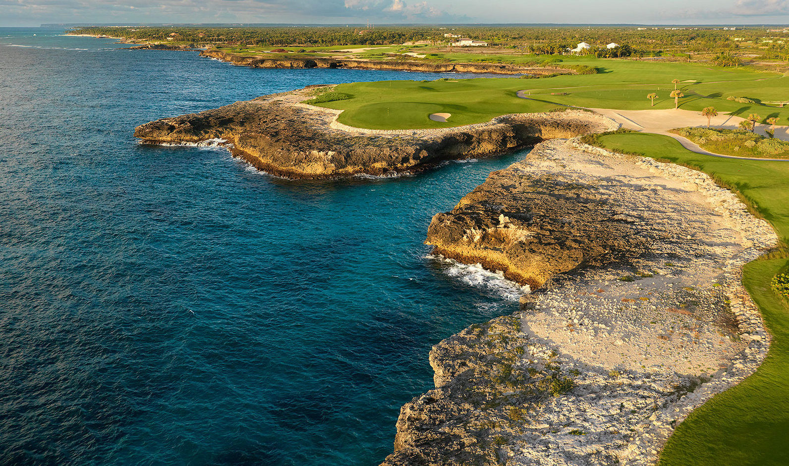 view of Corales golf course in Dominincan Republic
