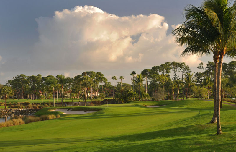 The palmer course at pga national resort is designed by arnold palmer for Pga national palm beach gardens