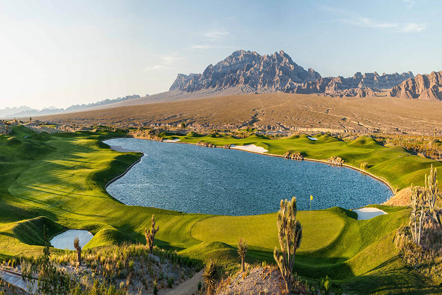 Paiute Golf Resort offers (3) championship desert golf course by Pete Dye
