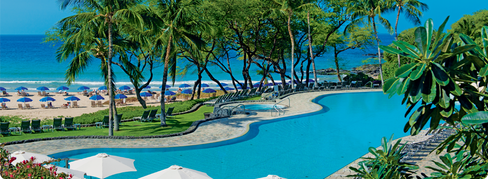 Hapuna Beach Prince Hotel Is Nestled In Natural Bluffs Above