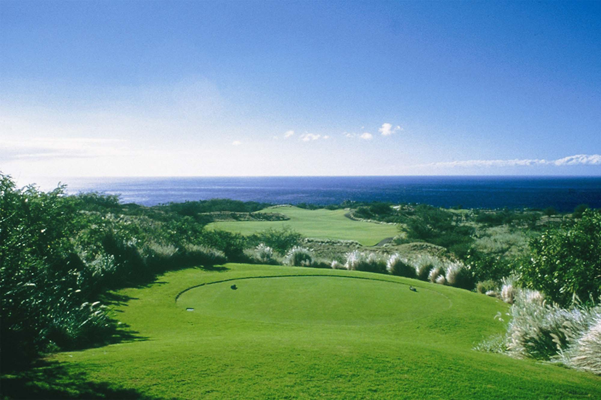 Hapuna Beach Prince Hotel Is Nestled In Natural Bluffs Above The Sea Golf Course